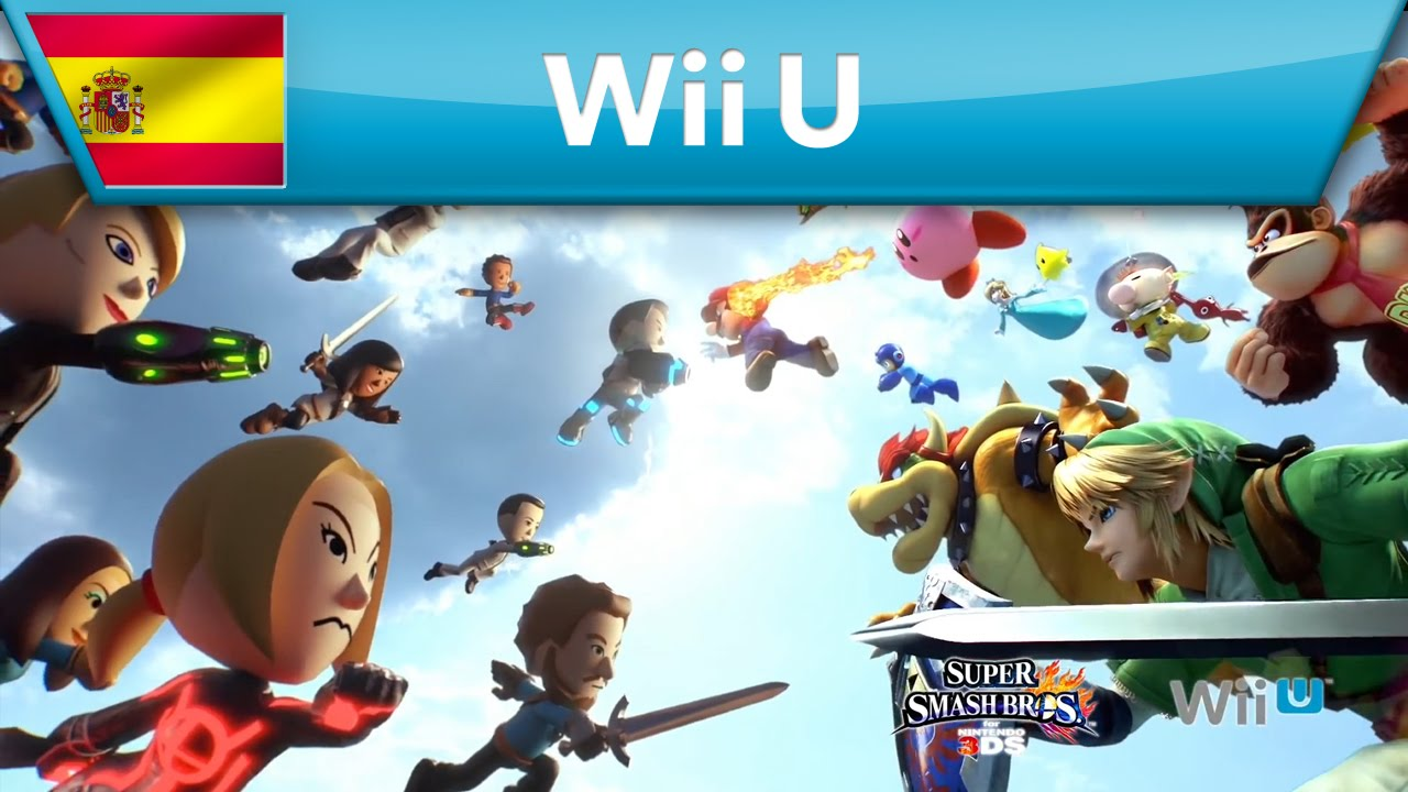 Super Smash Bros. for Wii U / Nintendo 3DS - Elige a tu luchador Mii