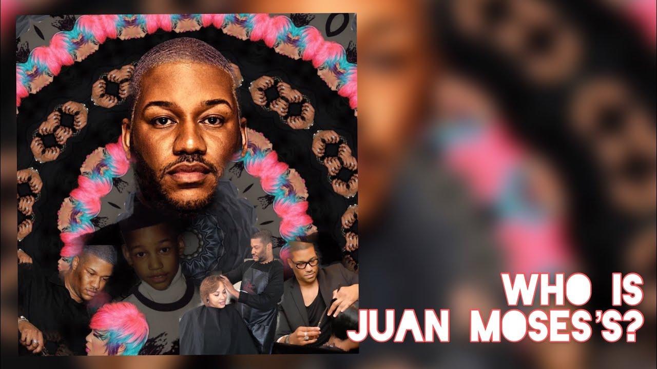 Who Is?   Black Queer  Celebrity Hair Stylist   J. Saleem Hair aka Juan Moses ?  