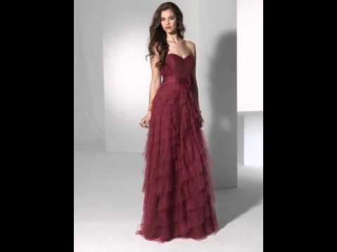 0a3dd2424 Vestidos Largos De Noche Para Damas Elegantes De Vestir - YouTube