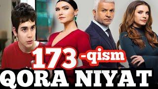 Qora niyat 173-qism uzbek tilida turk film кора ният 173-кисм