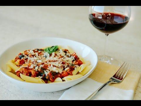 Easy Italian Meal - Live!! | Penne Pasta | Cherry Tomato Salad | Sorbet | Negroni