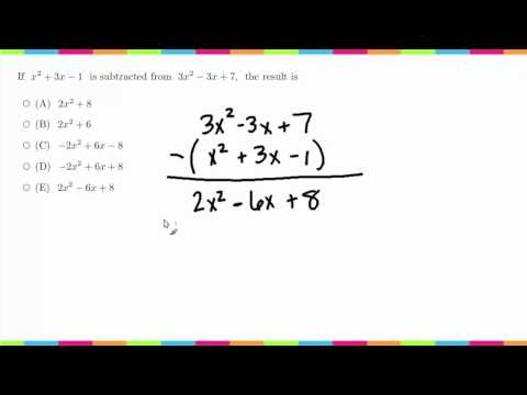 MDTP Mathematical Analysis Readiness Test (MA): Solution to #23