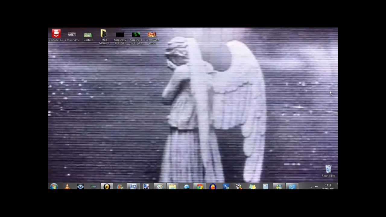 Weeping Angel Moving Desktop Background Youtube