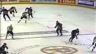 Dean Melanson Goal 1999 Calder Cup Finals
