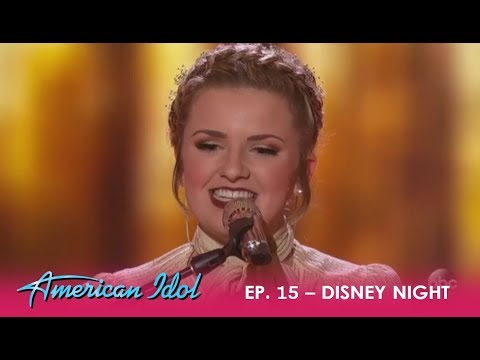 Maddie Poppe: Kicks Off Disney Night With Her TIMELESS Style | American Idol 2018