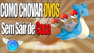 Como Rachar Ovos Sem sair de casa NOVO METODO 2016 ( Pokebolas Infinitas + pokemons)