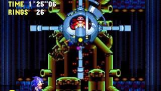 Sonic CD Bosses