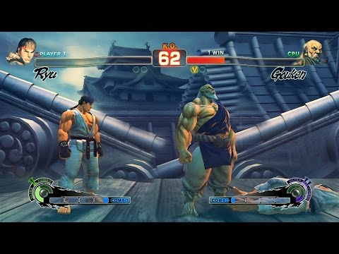 Ultra Street Fighter IV Ryu vs Gouken PC Mod