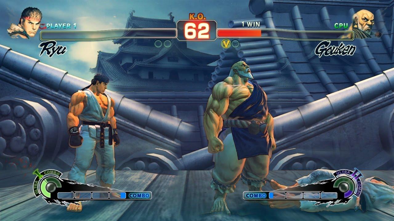 Ultra Street Fighter IV poison vs Gouken fundoshi mod