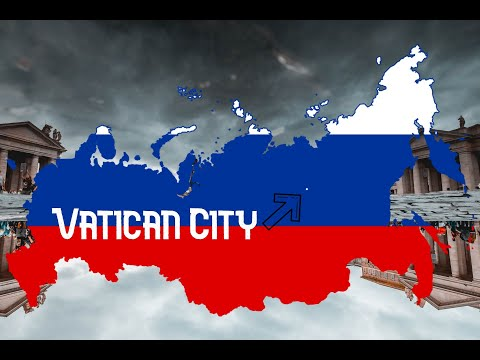 How Many Times can Vatican City fit into Russia? : (MORE THAN 10 MILLION)