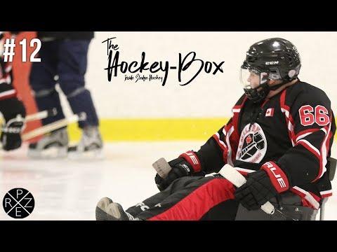 The Hockey-Box | Skating Drill, Falling & Much More! (GoPro Sled Hockey)