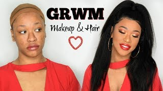 AFFORDABLE CHIT CHAT GRWM FT OMG Queen Hair |VALENTINE