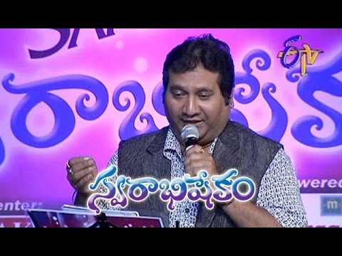 Payaninche O Chiluka Song - Mano Performance in ETV Swarabhishekam - Chicago,USA - ETV Telugu
