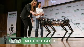 Demo with Sangbae Kim (MIT Biomimetic Robotics Laboratory)