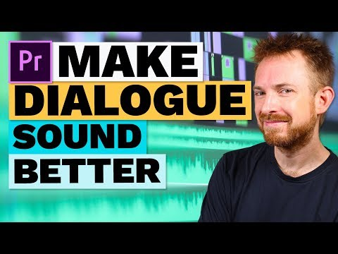 How to Make Dialogue Sound Better in Premiere Pro