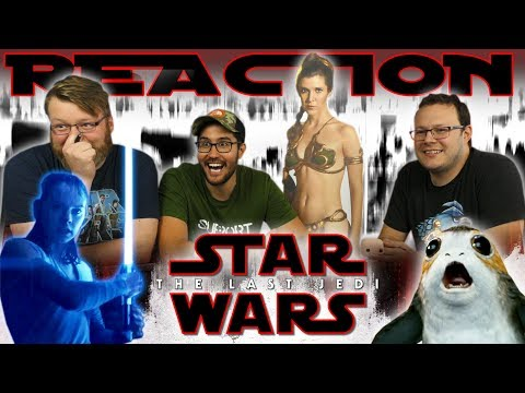 "Thumbnail: Star Wars: The Last Jedi ""Awake"" Trailer REACTION!!"