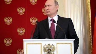 Путин: Скучно, девочки — провокация в Сирии напоминает поиск химического оружия Ирака