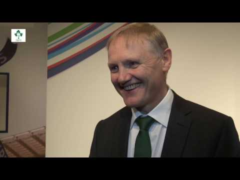 Irish Rugby TV: Joe Schmidt At The RBS 6 Nations Launch