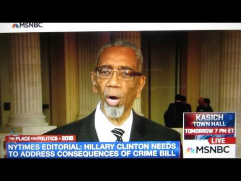 PT 2 -- 041316:  Rep. Bobby Rush (D-IL) Apologizes for Clinton Crime Bill Vote