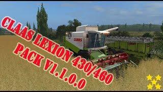 "[""CLAAS LEXION 430/460 PACK V1.1.0.0"", ""LEXION 430/460"", ""CLAAS LEXION 430/460 PACK"", ""CLAAS LEXION"", ""Mod Vorstellung Farming Simulator Ls17:CLAAS LEXION"", ""Mod Vorstellung Farming Simulator Ls17:CLAAS LEXION 430/460"", ""Mod Vorstellung Farming Simulator"