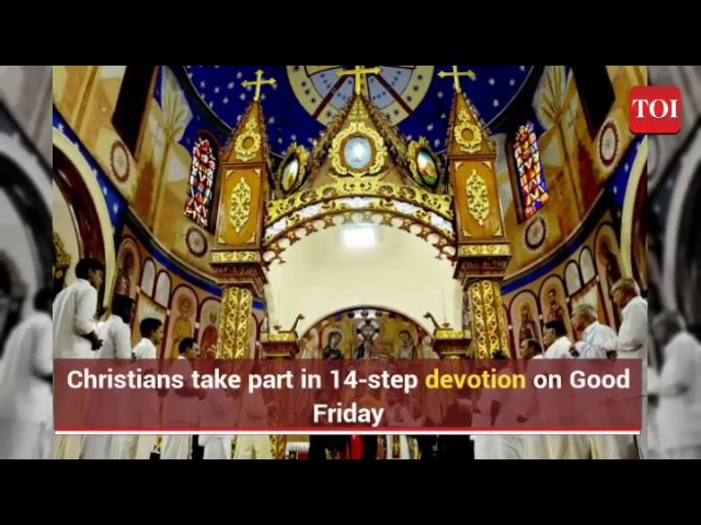 'Good' Friday because Jesus Christ died for the good of mankind