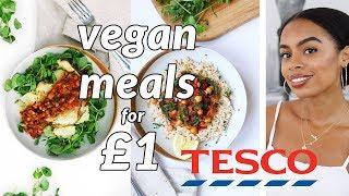 3 Epic Vegan Meals for £1 TESCO {easy & delicious!]