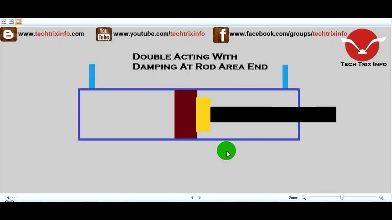 hydraulic cylinder schematic diagram [ 1280 x 720 Pixel ]