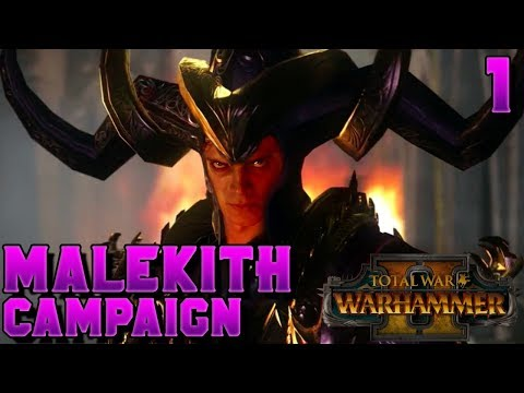 [Live Stream] NEW CAMPAIGN! Malekith HAS THE HIGH GROUND! | Total War: Warhammer 2