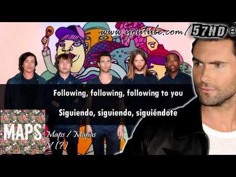 Maroon 5 - Maps HD Video Subtitulado Español English Lyrics