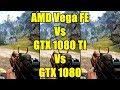 Far Cry 4 AMD Frontier Edition Vs GTX 1080 TI Vs GTX 1080 Frame Rate Comparison