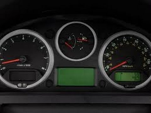 How To Reset Oil Service Light 2008 10 Land Rover Lr2