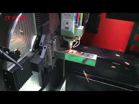 F6020GE - Tubos! Máquina Industrial Laser Fibra Óptica para Corte de Tubo Metálico