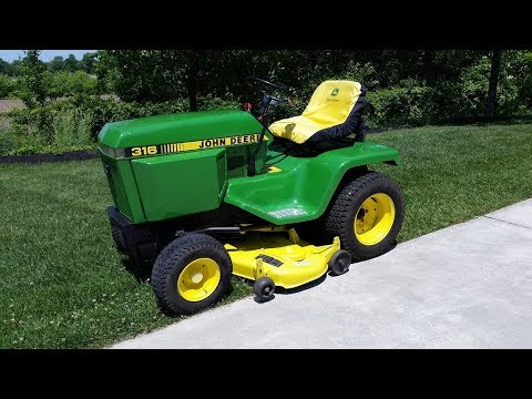 In-Depth Review of the 1987 John Deere 316 (R I P)