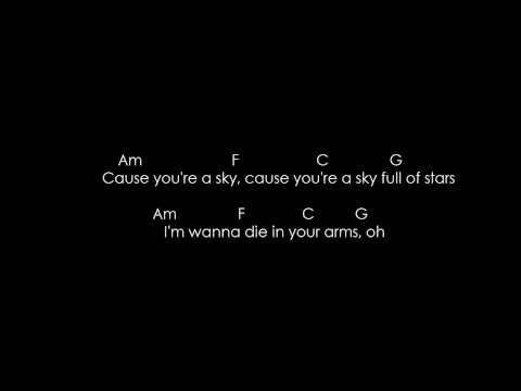 A Sky Full Of Stars (Acordes) / (Chords)