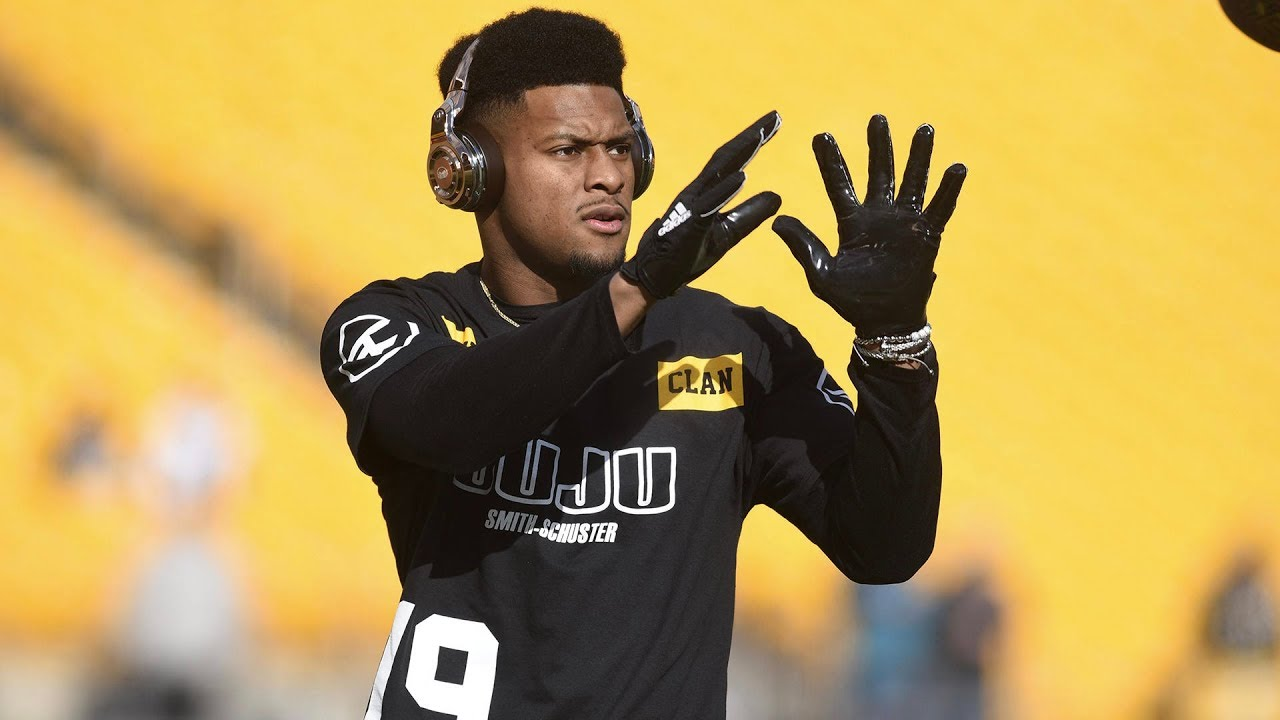 5f13a45a9 Steelers WR JuJu Smith-Schuster Would Like to See LeBron James in the NFL
