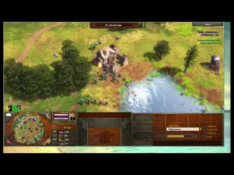 aoe3 1VS1 French VS Dutch (Alpha Gamers Cl4n_)
