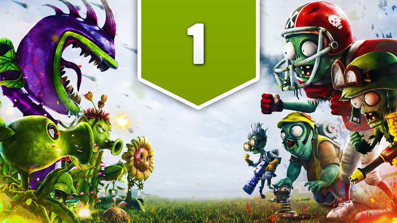 Plants Vs Zombies Garden Warfare Ps4 Gameplay Walkthrough Part 1 Zombomb Youtube