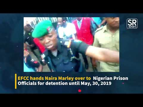 WATCH: EFCC Hands Over Naira Marley To Prison Officials