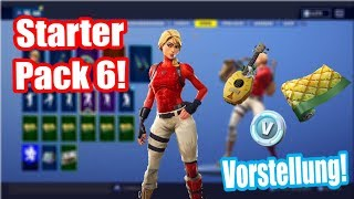 Starter Pack 6 is here! | Starter Pack 6 Skin Laguna Presentation! | Fortnite Battle Royale