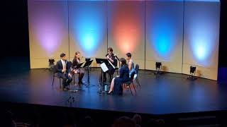 Fireside Quintet: Prelude, theme and variations I to IV from Carl Nielsen's Wind Quintet, Op.43