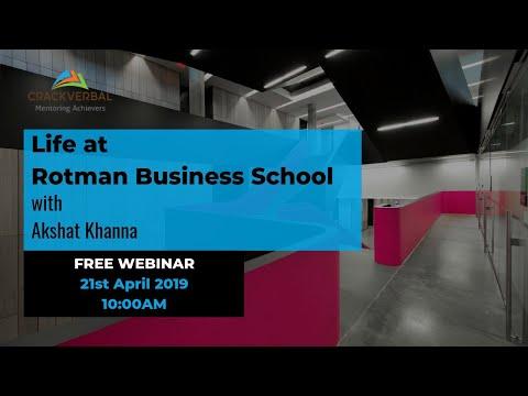 Life At Rotman B-School (Webinar)
