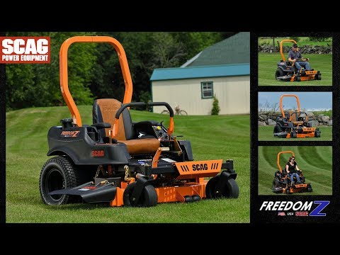 Freedom Z Zero-Turn Rider - Scag Power Equipment