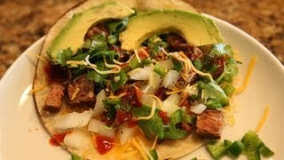 How To Make Street Tacos Recipe - Carne Asada Tacos- Bigmeatsunday