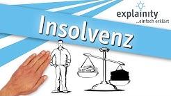 Insolvenz einfach erklärt (explainity® Erklärvideo)