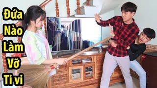 Cường Con Chơi Lớn Đập Vỡ Ti Vi Nhà Bố Vợ | Hải Tv