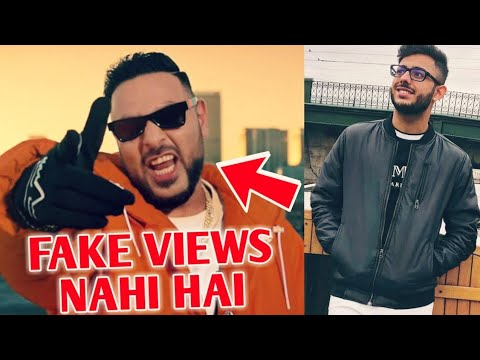 "Badshah New Song ""Paagal"" Fake Views? - His Reaction 