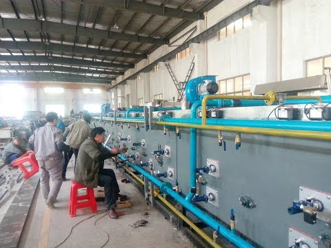 MANUFACTURING PROCESS VIDEO FOR 60 METERS GAS FIRED TUNNEL OVEN FOR OUR CHINESE CUSTOMER