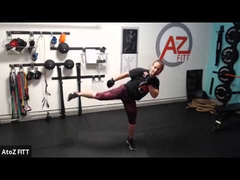 cardio kickboxing workout at home to burn fat  30 minutes