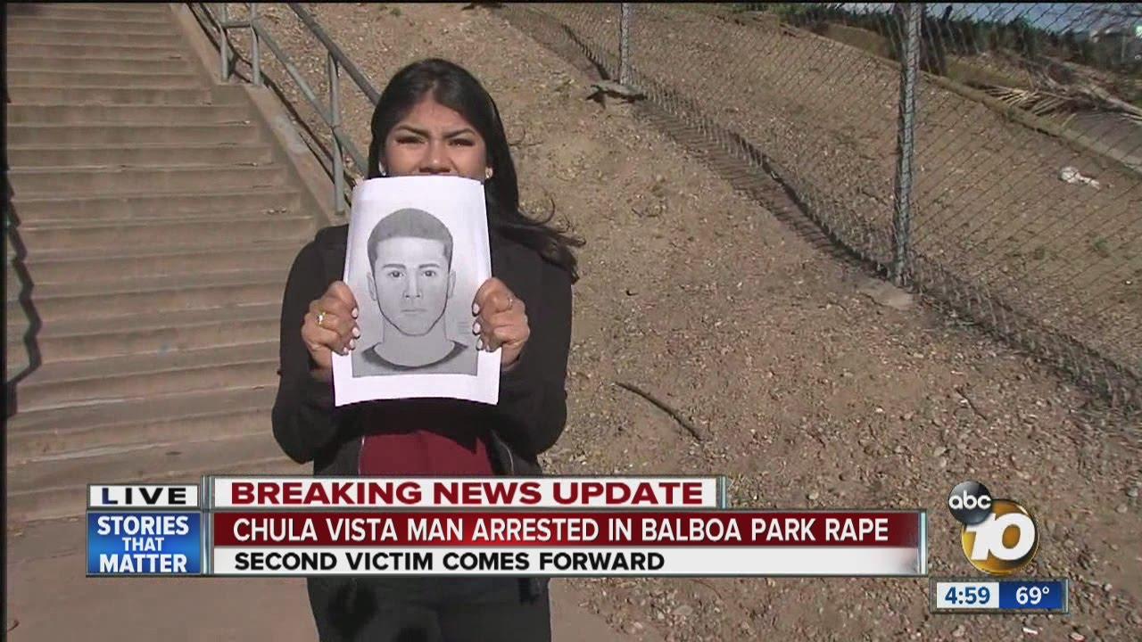 Chula Vista man arrested in Balboa Park rape