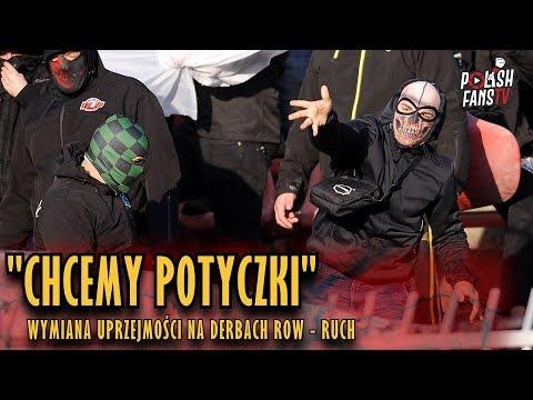 """""""CHCEMY POTYCZKI"""" - wymiana uprzejmości na derbach ROW - RUCH [NAPISY] (30.09.2018 r.)"""